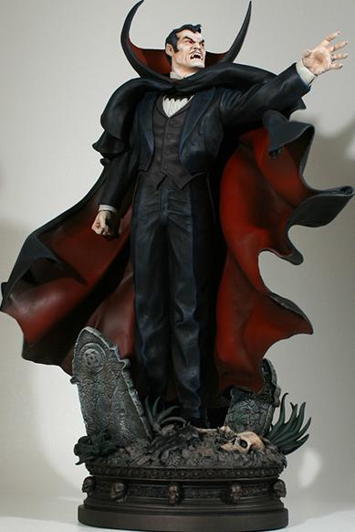Bowen Designs Dracula Polystone Statue