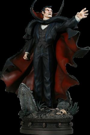 Dracula Polystone Statue