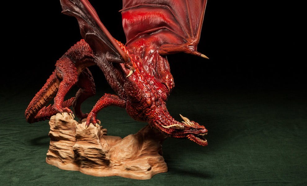 Gallery Feature Image of Dragon Polystone Statue - Click to open image gallery