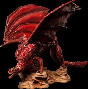 Dragon Polystone Statue