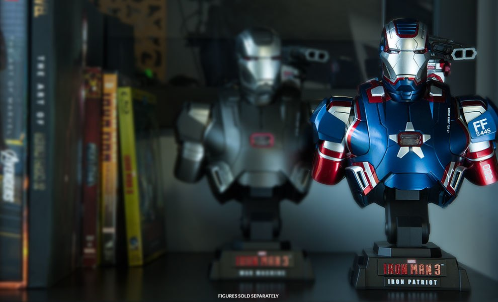 Gallery Feature Image of Iron Patriot Collectible Bust - Click to open image gallery