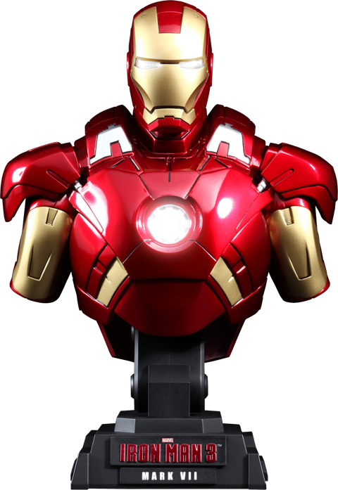Hot Toys Iron Man Mark VII Collectible Bust