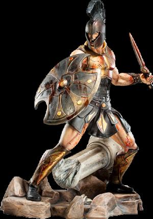 Achilles Polystone Statue