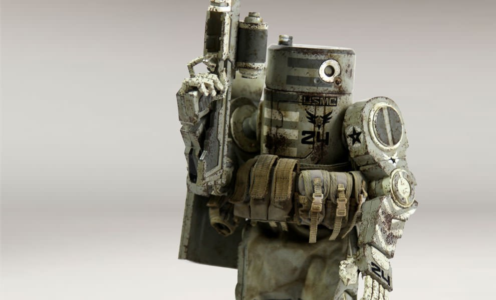 Gallery Feature Image of WWRp Caesar - USMC Collectible Figure - Click to open image gallery