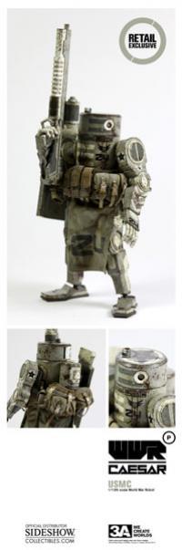 Gallery Image of WWRp Caesar - USMC Collectible Figure