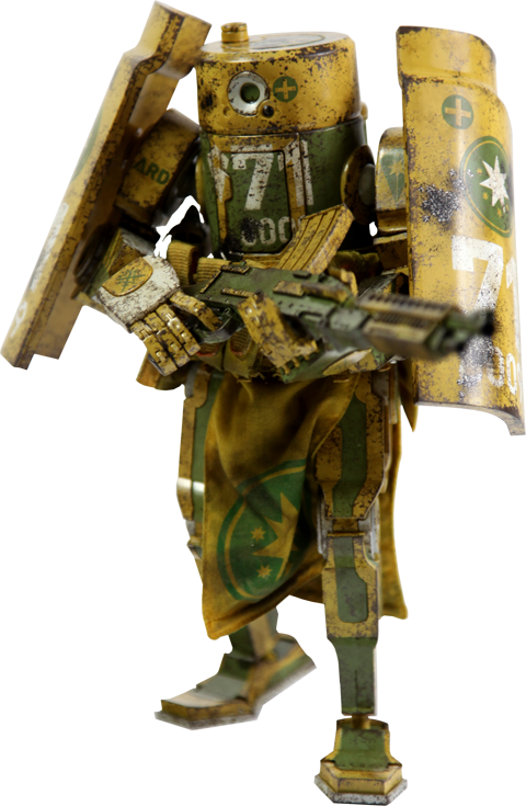 ThreeA Toys WWRp Caesar - Aus Republic Collectible Figure