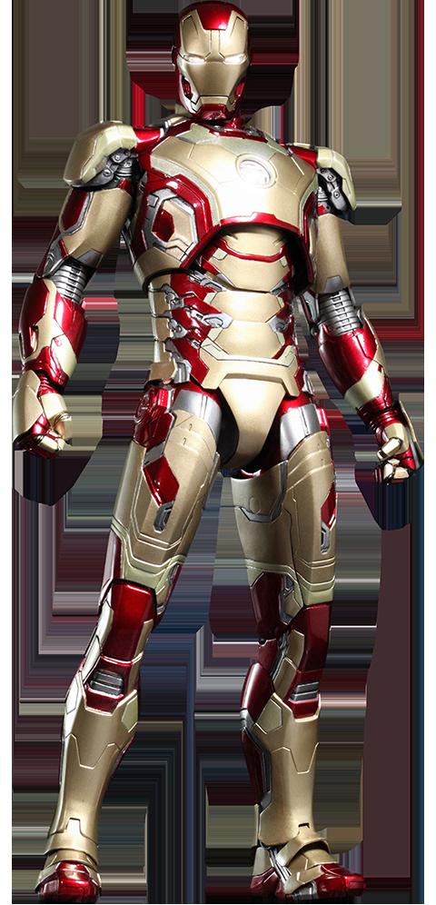 Hot Toys Iron Man Mark XLII (42) Sixth Scale Figure