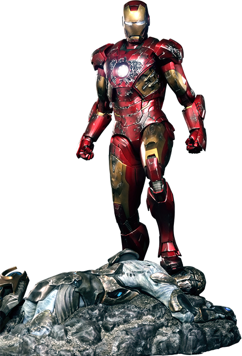 Hot Toys Iron Man Battle Damaged Mark VII Sixth Scale Figure