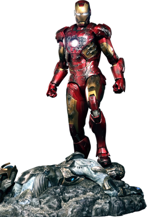 Iron Man Battle Damaged Mark VII Sixth Scale Figure