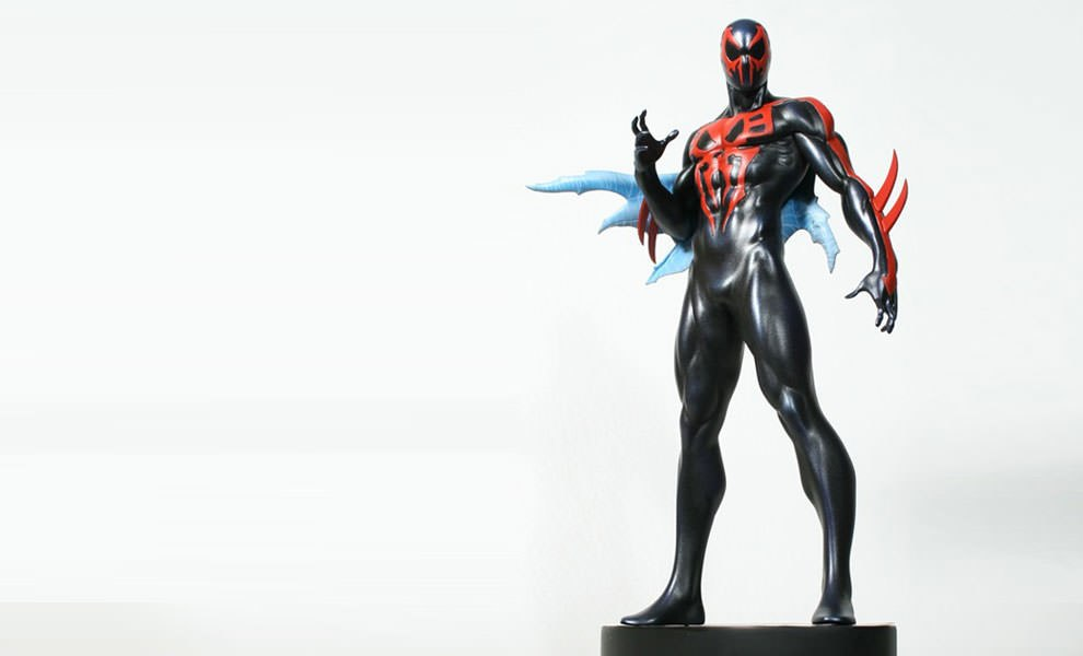 Gallery Feature Image of Spider-Man 2099 Polystone Statue - Click to open image gallery