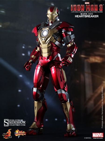 Marvel Iron Man Mark 17 Heartbreaker Sixth Scale Figure By Sideshow