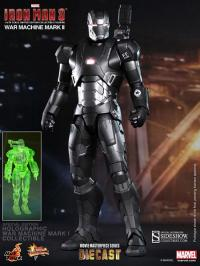 Gallery Image of Iron Man 3: War Machine - Mark II Sixth Scale Figure