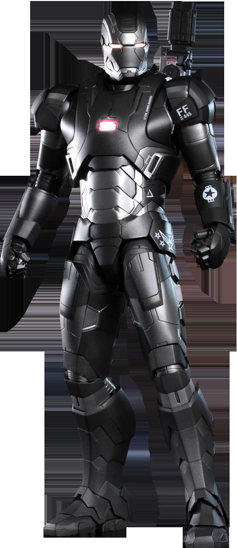 Hot Toys Iron Man 3: War Machine - Mark II Sixth Scale Figure