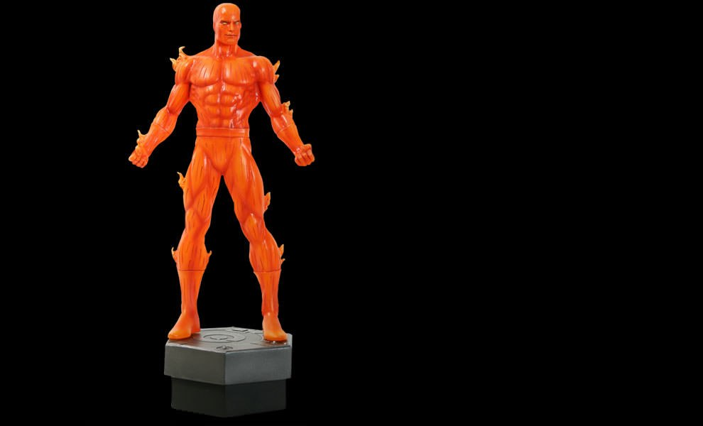 Gallery Feature Image of Johnny Storm: Human Torch Polystone Statue - Click to open image gallery