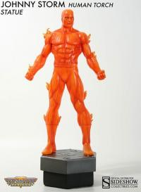 Gallery Image of Johnny Storm: Human Torch Polystone Statue