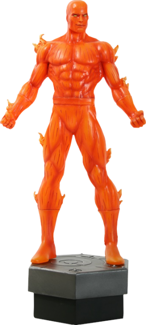 Johnny Storm: Human Torch Polystone Statue