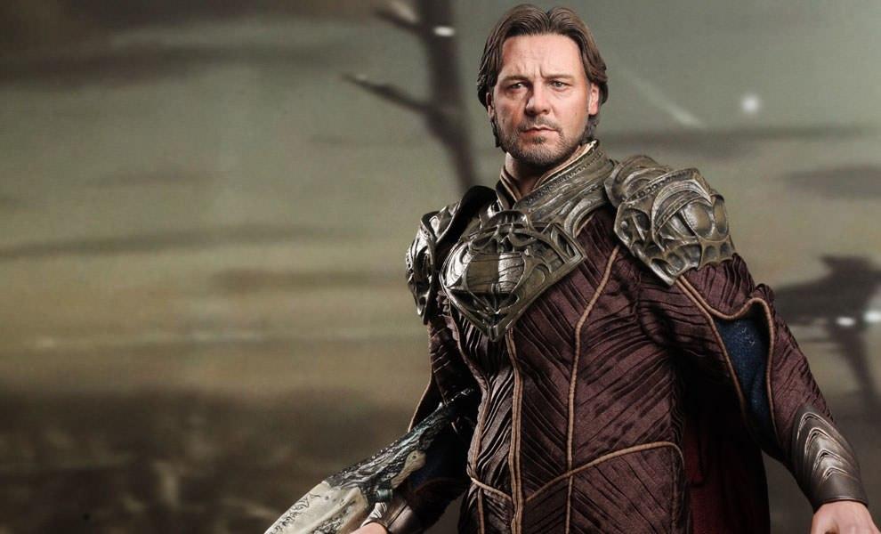 Hot Toys 1//6 Man of Steel Jor-El/_ Hands #1 /_Russell Crowe Superman  HT158D