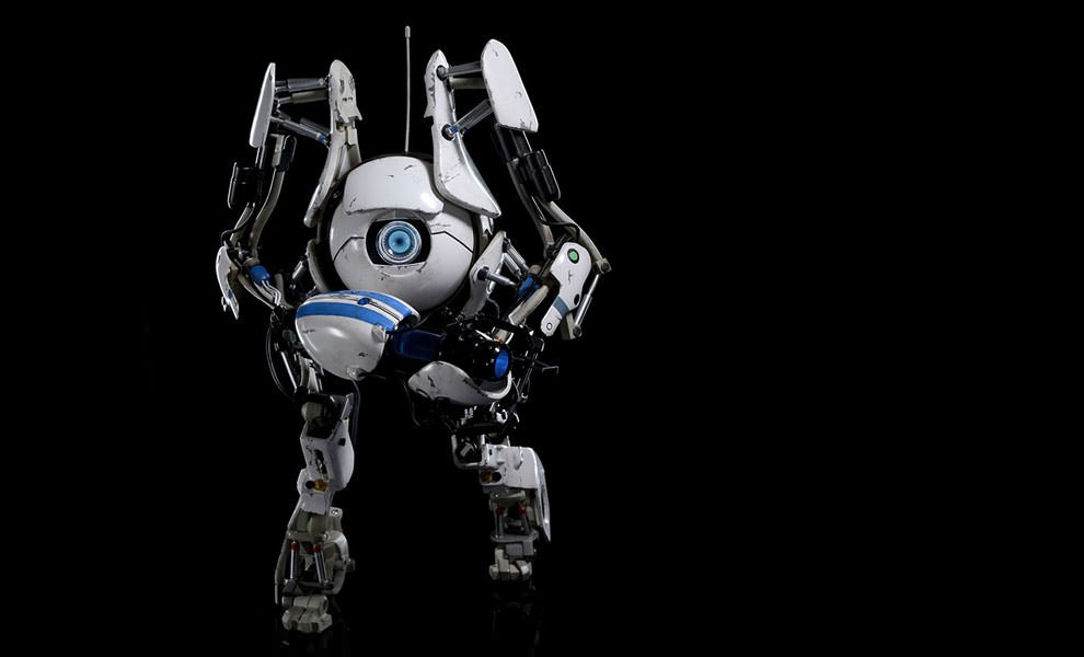 Gallery Feature Image of Portal 2 Atlas Sixth Scale Figure - Click to open image gallery