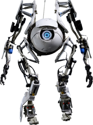 Portal 2 Atlas Sixth Scale Figure