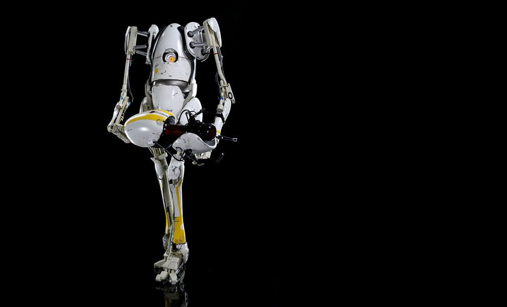 Gallery Feature Image of Portal 2 P-body Sixth Scale Figure - Click to open image gallery