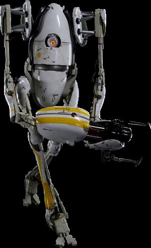 Portal 2 P-body Sixth Scale Figure