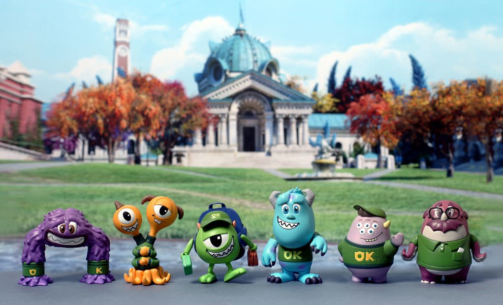 Gallery Feature Image of Monsters University Cosbaby Set Vinyl Collectible - Click to open image gallery