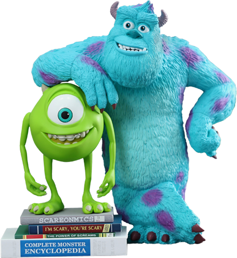 Hot Toys Mike and Sulley Vinyl Collectible