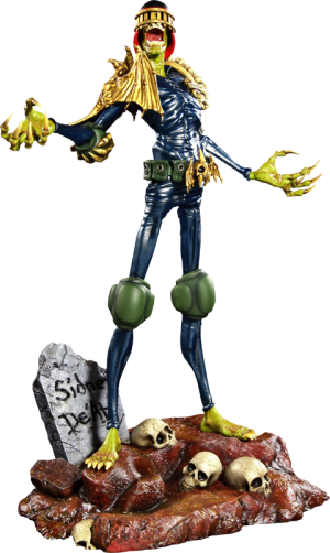 Judge Death Statue