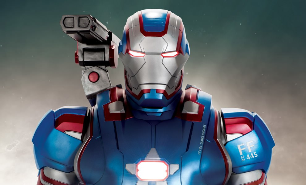 Gallery Feature Image of Iron Patriot Life-Size Figure - Click to open image gallery