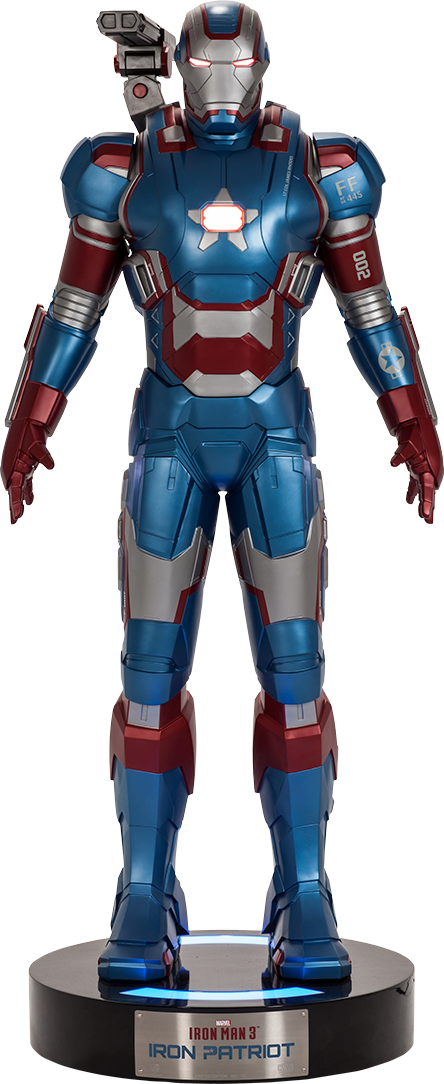 Beast Kingdom Iron Patriot Life-Size Figure