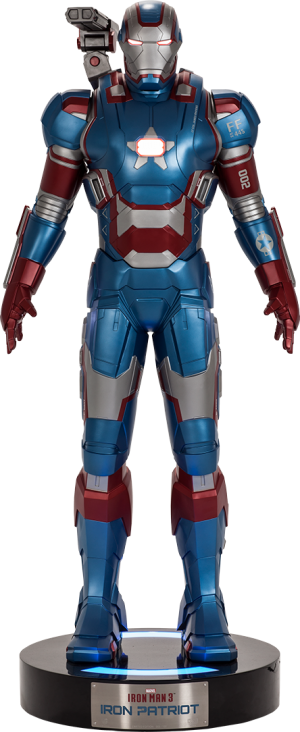 Iron Patriot Life-Size Figure