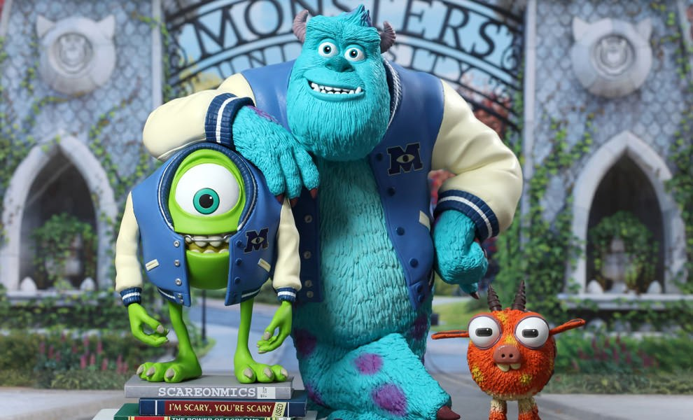 Gallery Feature Image of Mike, Sulley & Archie Vinyl Collectible - Click to open image gallery