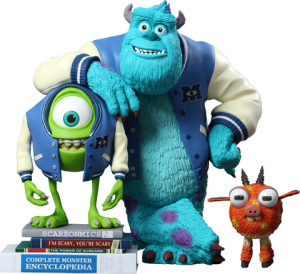 Mike, Sulley & Archie Vinyl Collectible