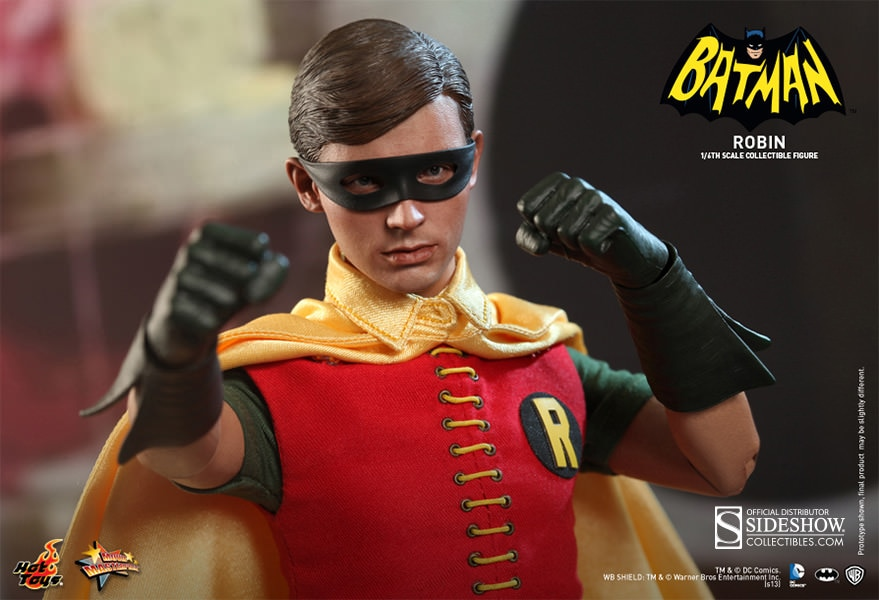 Dc Comics Robin 1966 Film Sixth Scale Figure By Hot Toys