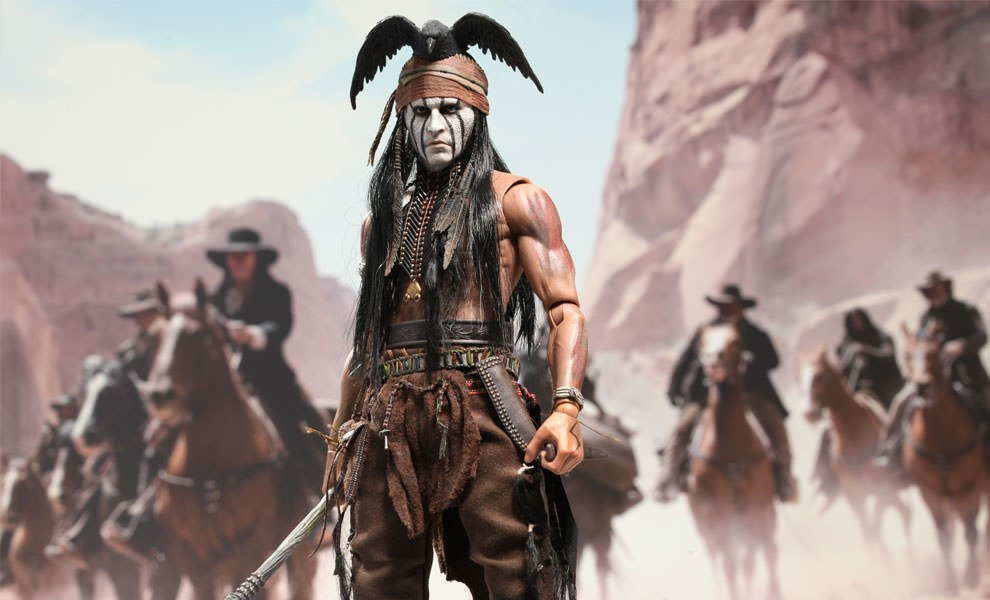 Gallery Feature Image of Tonto Sixth Scale Figure - Click to open image gallery