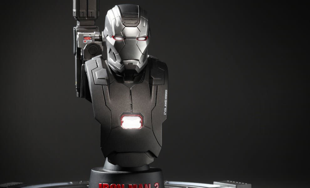 Gallery Feature Image of War Machine Mark 2 Collectible Bust - Click to open image gallery