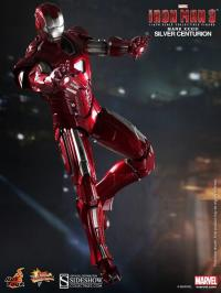Gallery Image of Iron Man - Silver Centurion - Mark 33 Sixth Scale Figure