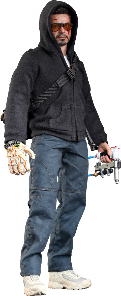 Hot Toys Tony Stark (The Mechanic) Sixth Scale Figure