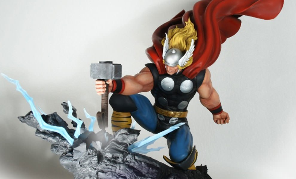 Gallery Feature Image of Thor Strike Down Statue - Click to open image gallery