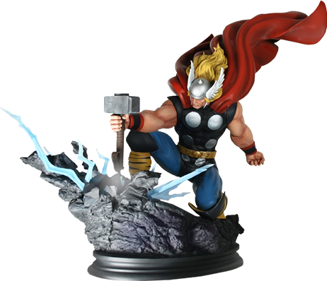 Bowen Designs Thor Strike Down Statue