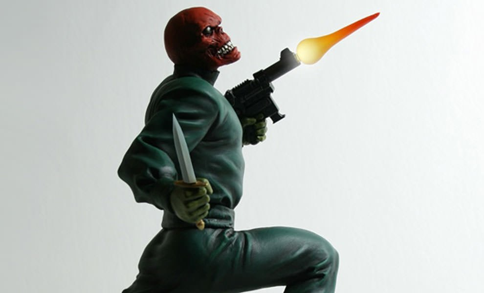 Gallery Feature Image of Red Skull: Action  Statue - Click to open image gallery