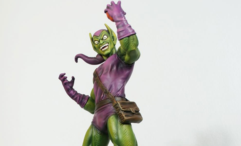 Gallery Feature Image of Green Goblin: Museum Statue - Click to open image gallery