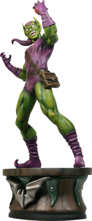 Green Goblin: Museum Statue