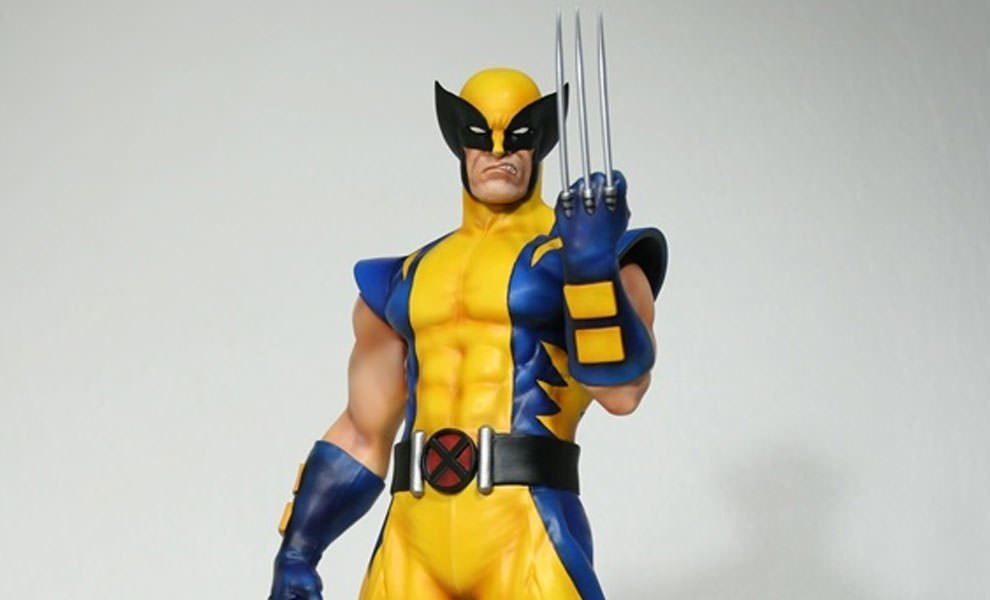 Gallery Feature Image of Astonishing Wolverine Statue - Click to open image gallery
