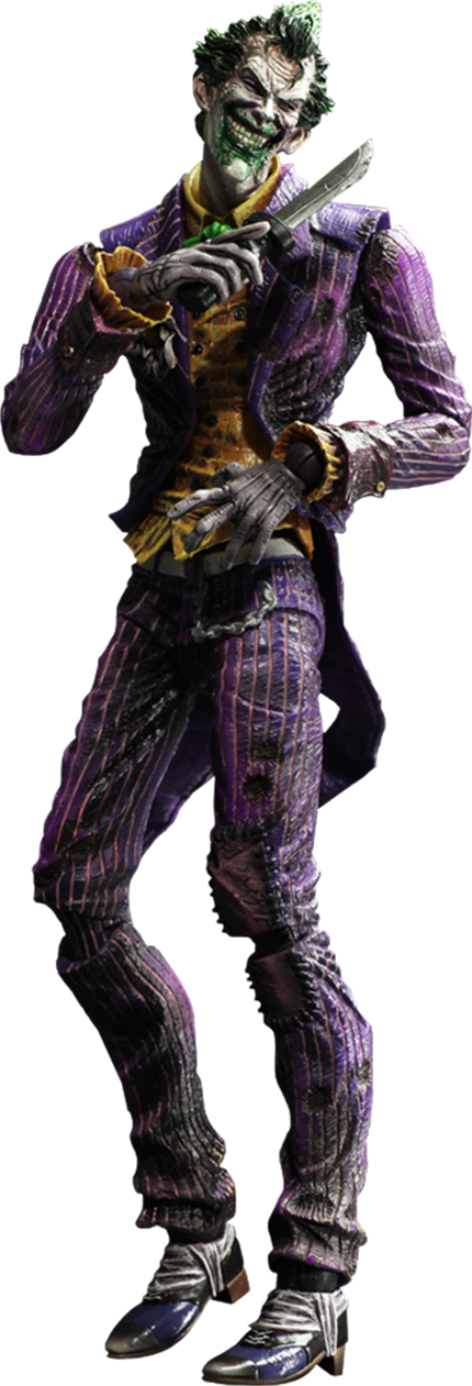 Square Enix The Joker: Arkham City Collectible Figure