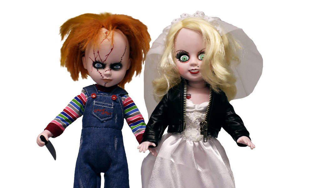 Gallery Feature Image of Chucky and Tiffany Living Dead Dolls Collectible Figure - Click to open image gallery