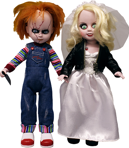 Mezco Toyz Chucky and Tiffany Living Dead Dolls Collectible Figure