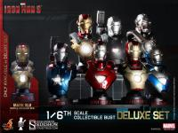 Gallery Image of Iron Man 3 - Deluxe Set  Collectible Bust