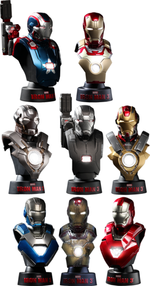 Iron Man 3 - Deluxe Set  Collectible Bust