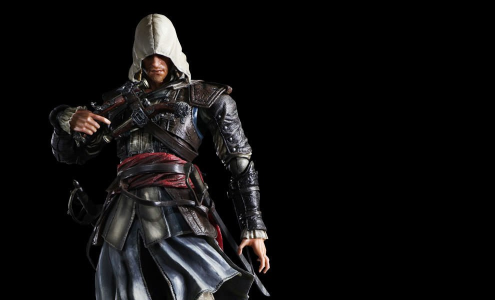 Gallery Feature Image of Edward Kenway  Collectible Figure - Click to open image gallery